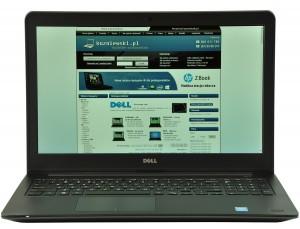 Model Dell Latitude E5250 charakteryzuje się nie tylko ciekawy wnętrzem ale także eleganckim, utrzymanym w biznesowym look-u wyglądem