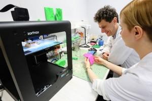 W Stanach Zjednoczonych drukarki 3D wykorzystywane są do produkcji narządów, które nie są regenerowane, jak chociażby: trzustka